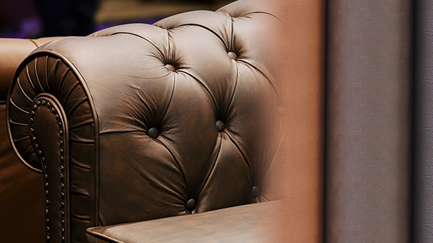leather sofa decrotive plastic